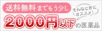 2000円以下の医薬品